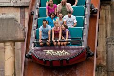 Busch Gardens. Escape from Pompeii. Hold on tight as a leisurely boat ride through the ruins of this great city suddenly turns explosive.