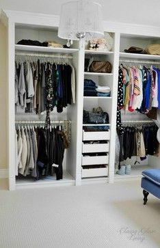 - Magnificent Ikea Hacks trend Toronto Transitional Closet Decorators with Built in walk in closet custom-made DIY dressing room ikea hack Ikea Pax mouldings Thank to Classy Glam Living Closet Walk-in, Closet Space, Closet Ideas, Diy Walk In Closet, Closet Mirror, Hallway Closet, Closet Doors, Ikea Malm White, Ikea Pax Wardrobe