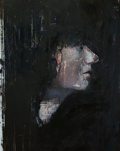 Portrait of a Woman in Profile by Ian Costello Oil ~  x