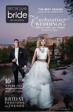 Makeup by Aimee Axt Artistry for Bridal Spectacular Magazine. The first time my work was published!