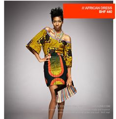 Exotic African Dress - www.bhfshoppingma...