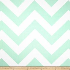 Mint Green Zigzag Window Curtain Panels with by WeeWindowsDesigns