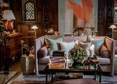 Visit the post for more. Nyc Holidays, Crystal Chandelier Lighting, Convention Centre, Design Show, The Hamptons, Art Nouveau, House Design, Table Decorations, Bedroom