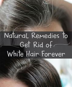 Simple Tricks On How To Get Healthy Hair Hair loss is a condition that affects many people. Hair loss can happen as a result of old age or other factors. Belleza Diy, Tips Belleza, Grey Hair Remedies, Natural Remedies, Natural Treatments, Hair Treatments, Grey Hair Treatment, Sleep Remedies, Natural Hair Care