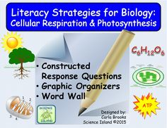 Research-based strategies for improving reading and writing skills: Constructed Responses with simple 3-point rubrics, Graphic Organizers, and Word Wall. Meet literacy goals and foster student understanding of Biology concepts at the same time!