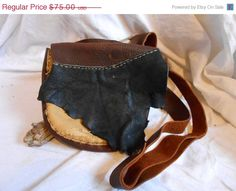 ON SALE Handmade Leather Shoulder by FaeMoonWolfDesigns on Etsy, $63.75