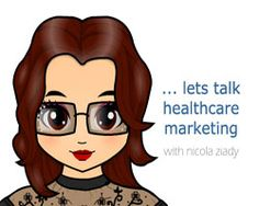 Talk healthcare marketing with Nicola Ziady :: #hcsm #hcmkg #hcmktg #healthcare