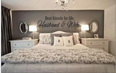 Best Friends for Life Husband and Wife Quote Decal Wall Sticker Bedroom Wedding | eBay