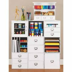 1000 images about craftrooms on pinterest craft rooms for Recollections craft room storage amazon