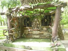 Hey, I found this really awesome Etsy listing at https://www.etsy.com/listing/99597019/fairy-house-all-recycled-and-found