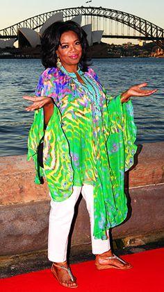 Oprah wears Camilla Franks