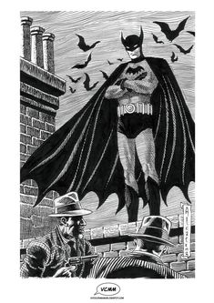 The Batman by Enrique Alcatena