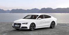 audi es una de las empresas que se ha enfocado en disminuir el impacto ambiental con el desarrolo de su Audi A7 Sportback h-tron quattro