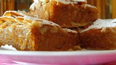 Greek Desserts, Greek Recipes, Banana Bread, French Toast, Bakery, Cheesecake, Deserts, Muffin, Food And Drink