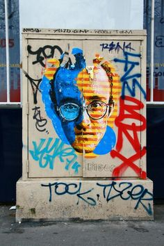 Paris 10 - boulevard Richard Lenoir - street art