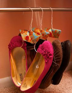 #Innovations don't necessarily have to be lab researched, they can be #simple and home made. As simple as making a #shoes hanger! Have you #innovated something today? Tell us #DIY