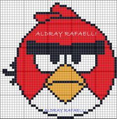 Angry Birds perler bead pattern by  Drayzinha