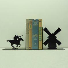 Don Quichotte Art métal serre-livres  USA par KnobCreekMetalArts