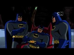 Batman: The Brave & The Bold - The lighter, funnier side of Batman.  Which is great, and I wish it was still on.