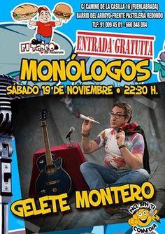 Monólogo en El Tapeo Restaurante en Fuenlabrada