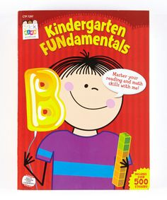 Look at this Stick Kids Kindergarten Fundamentals Paperback by Baker & Taylor Publishing Education Quotes For Teachers, Elementary Education, Kindergarten Reading, Kindergarten Curriculum, Preschool Printables, Common Core Standards, Early Childhood, Activities, Kids