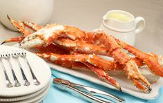 How To Prep, Cook & Eat Crab Legs: They are quite the treat and so easy to make too! Four different methods of cooking (Broiled, Baked, Boiled, Steamed) along with a few tips to help you get started!
