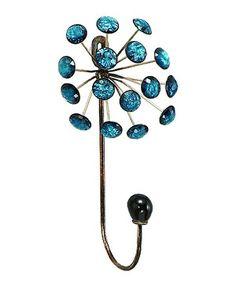 Look what I found on #zulily! Blue Jewel Wall Hook by UMA Enterprises #zulilyfinds
