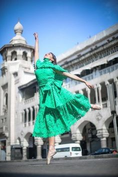 Bambah x Ballerinas of Cairo: Spreading Magic in the Heart of Cairo! Arab Fashion, In The Heart, Cairo, Ballerinas, Egyptian, Collaboration, Bloom, Magic, Beautiful