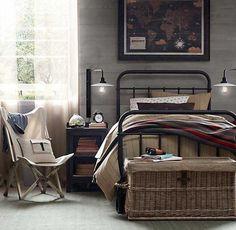 dormitorio-vintage-cama-metal-hierro-15
