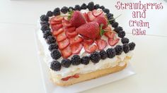 This Strawberries and Cream Cake is super easy, always a hit and everyone will think you're Betty Crocker.
