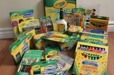 Always a Crayola Kid! Little Boys, Smocking, Back To School, Doodles, Packaging, Cleaning, Creative, Kids, Giveaways