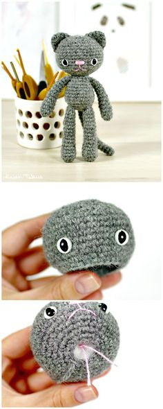 These Free Crochet Cat Patterns  that will make you get the perfect cat amigurumis ever