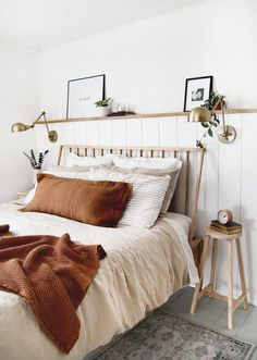 Home Interior Modern .Home Interior Modern Cozy Bedroom, Bedroom Inspo, Bedroom Modern, Earthy Bedroom, Bedroom Inspiration, Simple Bedroom Decor, Minimal Bedroom, White Bedrooms, Art For Bedroom