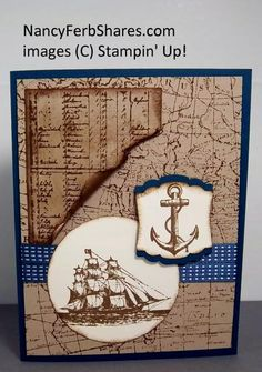 The Open Sea by stampur - Cards and Paper Crafts at Splitcoaststampers