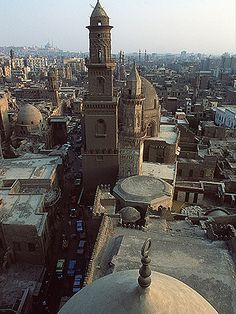 Above old Cairo, EGYPT (by nalindes)