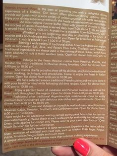 Valentin Imperial Maya Menus Places Ive Been To