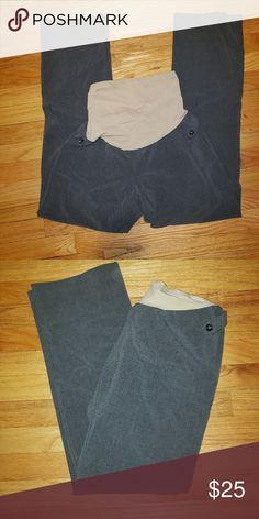 d645b65ed6b02 Grey Maternity Dress Pants EUC Grey Maternity Dress Pants Size 8/Medium  Motherhood Maternity Motherhood