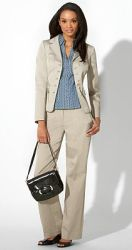 Business Woman in a Suit from Ann Taylor