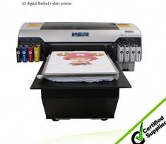 0a2d21b08 Best High quality white ink a1 size WER-EP7880T digital t-shirt printing  machine