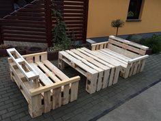 Loungemöbel, Terrassenmöbel, Sitzgruppe, Palettenmöbel | eBay
