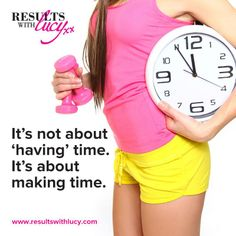 """It's not about """"having"""" time. It's about making time. Workout Motivation, Motivation Quotes, Fitness Tips, Health Fitness, Make Time, How To Make, Motivational Quotes For Working Out, Motivational Quotes, Motivating Quotes"""