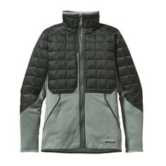 Patagonia Men\'s Hybrid Down Jacket: Stay mobile and warm with the Hybrid Down Jacket. Designed and sculpted specifically as a snowriding midlayer, it provides lightweight insulation for your core, excellent breathability for the uphills and stretch where you need it most. Built in concert with our PowSlayer shells, the hybrid Down is made from a combination of lightweight, breathable Polartec® Power Stretch® fleece and warm, traceable (third-party-verified, non-live-plucked, non-force-fed)…