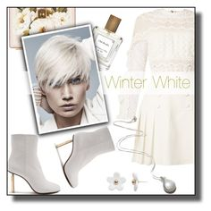 """""""Winter ❄️"""" by nusongbird ❤ liked on Polyvore featuring Dolce&Gabbana, self-portrait, The Perfumer's Story by Azzi, Vetements, Poporcelain and Pamela Love"""