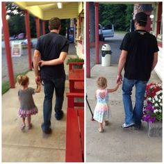 Uncle Martin (Truex) goes for ice cream. Brooklyn 2013; Ashlyn 2014.(Newman)  If it's New Hampshire, it's gotta happen.