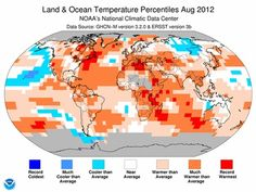 For the 330th Month in a Row, It's Been Hotter Than the 20th Century Average