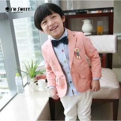 da5ab7fe3895 Elegant Salmon Summer Coat for Children with Lining in Black and White  Stripes. Baby Boy Clothes ...
