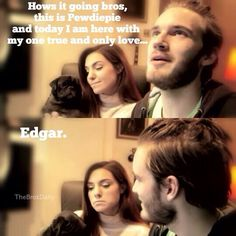 PewDiePie And Marzia.... Really Cute Couple x