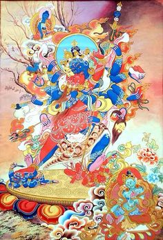 Heruka Vajrasattva: Sessions of insight meditation alternate with sessions of a powerful purification practice in Heruka Vajrasattva. This combined approach ensures your progression on the path to liberation and enlightenment.