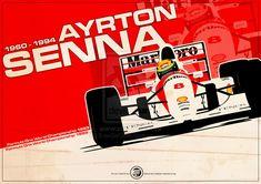 Ayrton Senna - F1 1993 by EvanDeCiren.deviantart.com on @deviantART