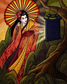 Japanese Mythology - Sun Goddess Amaterasu